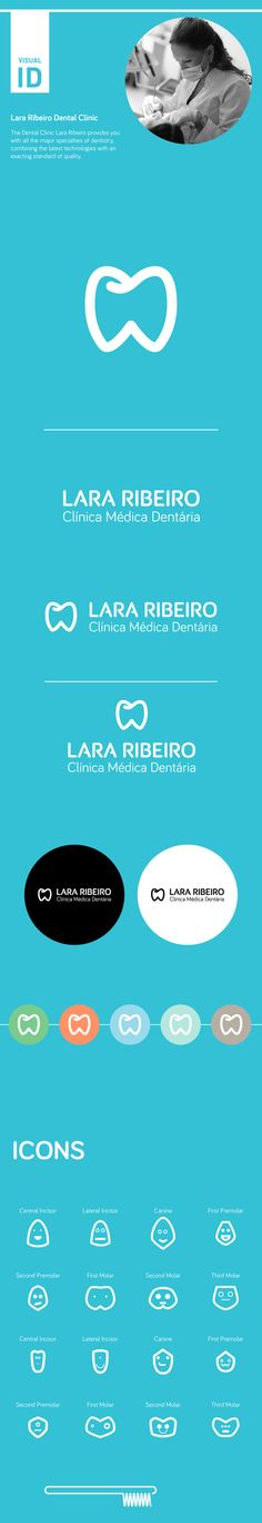 LARA RIBEIRO DENTAL CLINIC by Zé Gouveia, via Behance