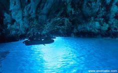 La grotte bleue à Biševo - Blog voyage d'une française en Croatie