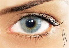 Solotica HIDROCOR ICE colored contacts -- the best possible color contacts for dark eyes
