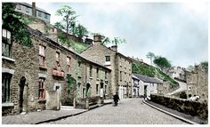 Dyehouse Lane, New Mills. A street of 5 pubs. New Mills, Industrial Architecture, Family History, Bridges, Shops, Urban, Mansions, Black And White, Street