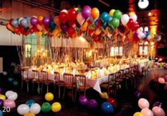 Balloon Trends :: Make your party POP!  20+ Classy Balloon Ideas!