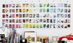 polaroid wall - Google Search