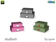 xyra33's xyra Studium decoboxes