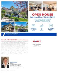 116 Cottages June 16 June 16, Real Estate News, Live Life, Open House, Cottages, Tower, Community, Design, Cabins