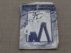 Ladies Designer Jeans Pattern 1981