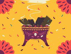 Behance :: Editing Ofrenda de Día de Muertos