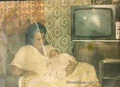 Ghost image in TV Set vintage