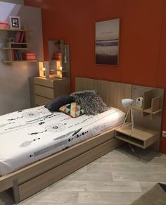 Creating A Built In Bed With Modern Bedroom Nighstands   The Best Wood Furniture