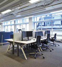 Vasakronan HK – Kontorsinredningar – Snickeri Stockholm |Hedemora Inredningar NEOS office chair | Design wiege | Dynamic seating. Pure and simple. | By Wilkhahn | #neos