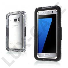 IP68 Vattentät Fodral till Samsung Galaxy S7 Edge - Svart - Fri Frakt