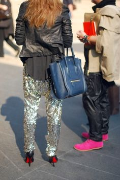 Sparkly pants - love these as they are not tight and they look comfy!