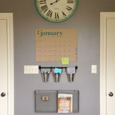 Create an organization station for your family with these fabulous ideas!
