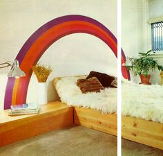 (1977 diy bedroom design from Better Homes and Gardens )