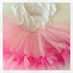 Tutu pink bebe con body — Princess tutu