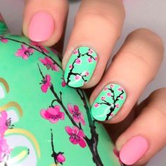 40 Fresh Spring Nail Art Ideas to Inspire YouBeautiful Spring Nail Art Designs Trends Everyone needs to appear their best now of the year, They're some nice spring nail concept can leave you feeling prepared for any price.Spring nails are that final Nail Art Designs, Easter Nail Designs, Elegant Nail Designs, Nail Designs Spring, Elegant Nails, Nail Designs Floral, Nails Design, Cute Spring Nails, Spring Nail Art
