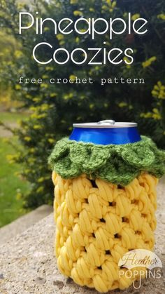 Everyone loves a cold drink in summer, and everyone hates that drink once it has been boiled by the sun. So we all typically reach for a generic coozie from the store or one that has been plastered… Crochet Christmas Gifts, Homemade Christmas Gifts, Crochet Gifts, Doilies Crochet, Thread Crochet, Amigurumi For Beginners, Crochet For Beginners Blanket, Crochet Stitches Patterns, Crochet Patterns Amigurumi