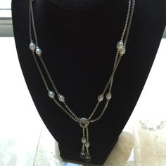 Judith Ripka AMAZING 9.25 And real Pearl Lasos TDF Elegance by anyone's standards! This is Ripka Coutour and not many pieces were made! A lot of necklace for the value plus wear with jeans or to a wedding! My Sales Price is Final ❌No Bundle on this❌ Judith Ripka Jewelry