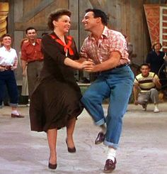 Aaahh...one of my all time favorites! Gene and Judy    in Summer Stock