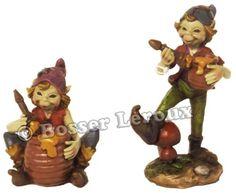 Korrigan musicien avec son pot de miel bosser-leroux