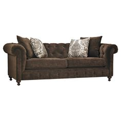 Tufted roll arm sofa with a kiln-dried hardwood frame and foam core cushioning.   Product: SofaConstruction Material...