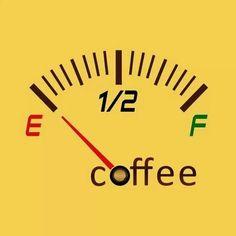 Coffee Humor | Running on Empty!