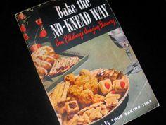 Pillsbury Bake the No Knead Way Cook Book Ann by FoxyFineVintage