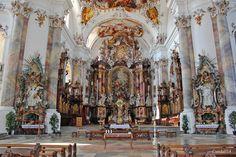 Die Basilika St. Alexander und Theodor in Ottobeuren von Gandalf14