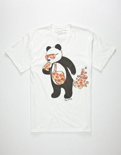 1f5dff886 RIOT SOCIETY Panda Pizza Bubble Mens T-Shirt | Graphic Tees