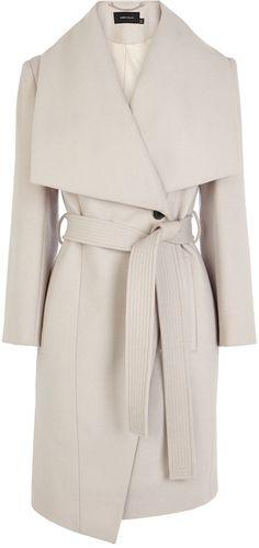 Karen Millen Belted Coat on shopstyle.co.uk