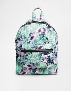 Enlarge ASOS Floral Scuba Backpack
