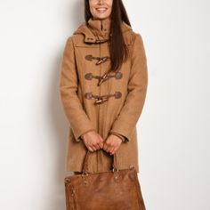 Shelby Tweed Duffle Coat | Women's Tops Jackets Outerwear | Roots