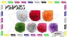Pompom #pompom #decoracion #fiesta #color #party  #etcmx https://www.facebook.com/ETCMX