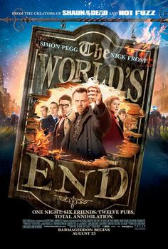 The World's End 27x40 Movie Poster (2013)