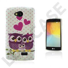 Westergaard LG F60 Deksel - Søte Ugle Familie Owl Family, Smartphone, Phone Cases, Led, Cover, Sweet, Candy, Blankets