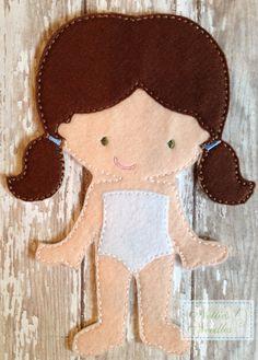 Sentí Audrey Doll por NettiesNeedlesToo en Etsy
