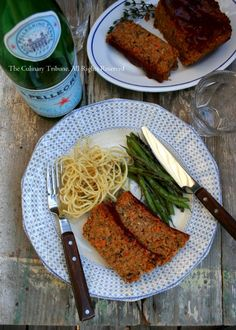 Vegan Meatloaf - I love making vegan loafs, they're so good. my meat eating boyfriend even loves them too (: