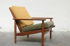 Set of 2 Danish arm chairs.  @ Atelier Solarshop - Antwerp, BE