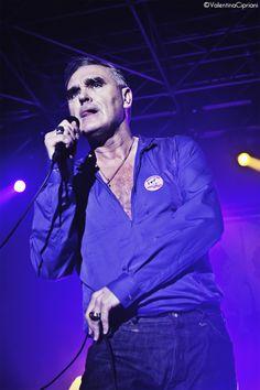 Morrissey @ ObiHall, Firenze (Foto di Valentina Cipriani)   Relics Controsuoni - Rock Webzine, recensioni, live, dischi, interviste, Rock in Roma