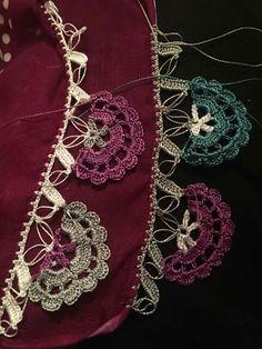 Crochet Borders, Crochet Stitches, Crochet Patterns, Saree Tassels, Romanian Lace, White Eyeliner, Crochet Curtains, Irish Crochet, Handicraft
