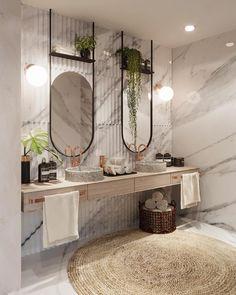 340 idees de salle de bain naturelle