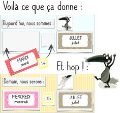 La date avec Loup Behaviour Management, Classroom Management, Primary Education, Primary School, Activities For Kids, Crafts For Kids, Petite Section, School Hacks, Postres