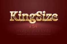 AI CS5 graphic styles King Size by popskraft lab on @creativemarket
