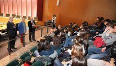 Intercambio escolar entre estudiantes de fuenlabrada e italia