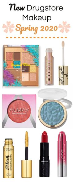 Bored in quarantine? Check out these new spring 2020 drugstore makeup releases. Find some new makeup goodies while you're home.  #new #spring #makeup #drugstore #2020 #drugstoremakeup #beauty #milani #budgetbeauty #spring2020 #almay #revlon #physiciansformula Best Drugstore Eyeshadow, Rimmel Makeup, Best Drugstore Concealer, Best Drugstore Products, Drugstore Makeup Dupes, Beauty Dupes, Beauty Tricks, Makeup Products, Beauty Products