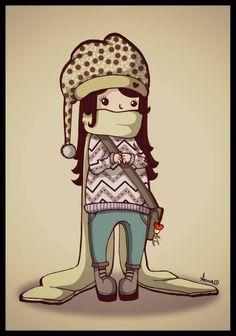 Cold cold!