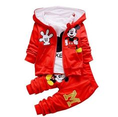★★ 50% Off ★★Baby Boys/Girls Set Mickey T Shirts + Pants + Jacket Available in 3 Lovely Colors!!! Limited Stock (52) Tag Dad, Uncles or Grandparents to get one for your sweet baby  Order Now👉👉 https://www.babies-4you.com/products/set-sport-unisex-cartoon-3-pcs-t-shirts-pants-jacket #KidsOMG #cute #babies #babyfashion