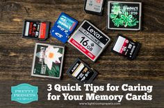 Memory cards hold the images we care about! In this Pretty Presets for Lightroom tutorial, learn to care for your memory cards so they can care for your photos Photography Tools, Photography Lessons, Photography Business, Digital Photography, Camera Hacks, Camera Tips, Pretty Presets, Photo Tips, Photo Ideas