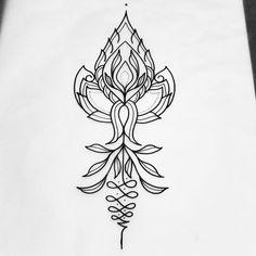 Dispo réservation en mp ou sevenechek@gmail.com #tattoo #tatouage #foudrenoire…