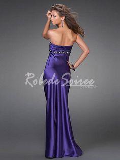 Classique et élégante robe bustier violette [RDSSXY-0005] - €119.40 : Robe de Soirée Pas Cher,Robe de Cocktail Pas Cher,Robe de Mariage,Robe de Soirée Cocktail.
