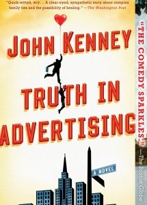 """In this book trailer, a focus group discusses Truth in Advertising by John Kinney: """"Finbar Dolan, the main character."""" / """"It's a girl?"""" / """"It's a 40 year old man."""" / """"It's a River Elf?"""""""